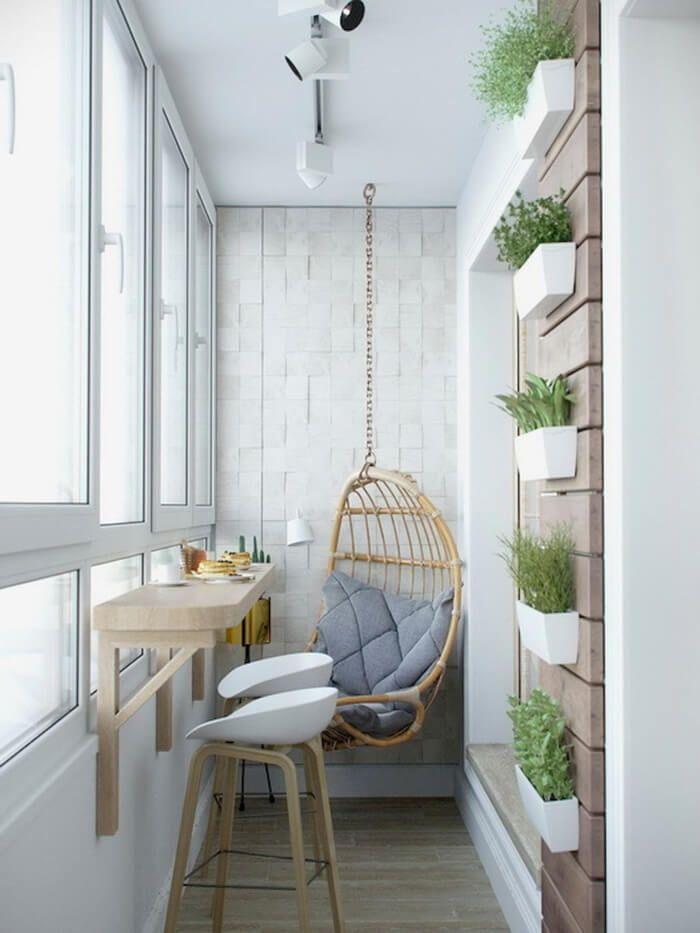 #balkon dekorasyon fikirleri kucuk 50 kleine Balkondekorationsideen - Ev Düzenleme - Diy