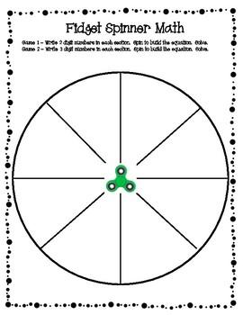 fidget spinner math game rechnen und klasse. Black Bedroom Furniture Sets. Home Design Ideas