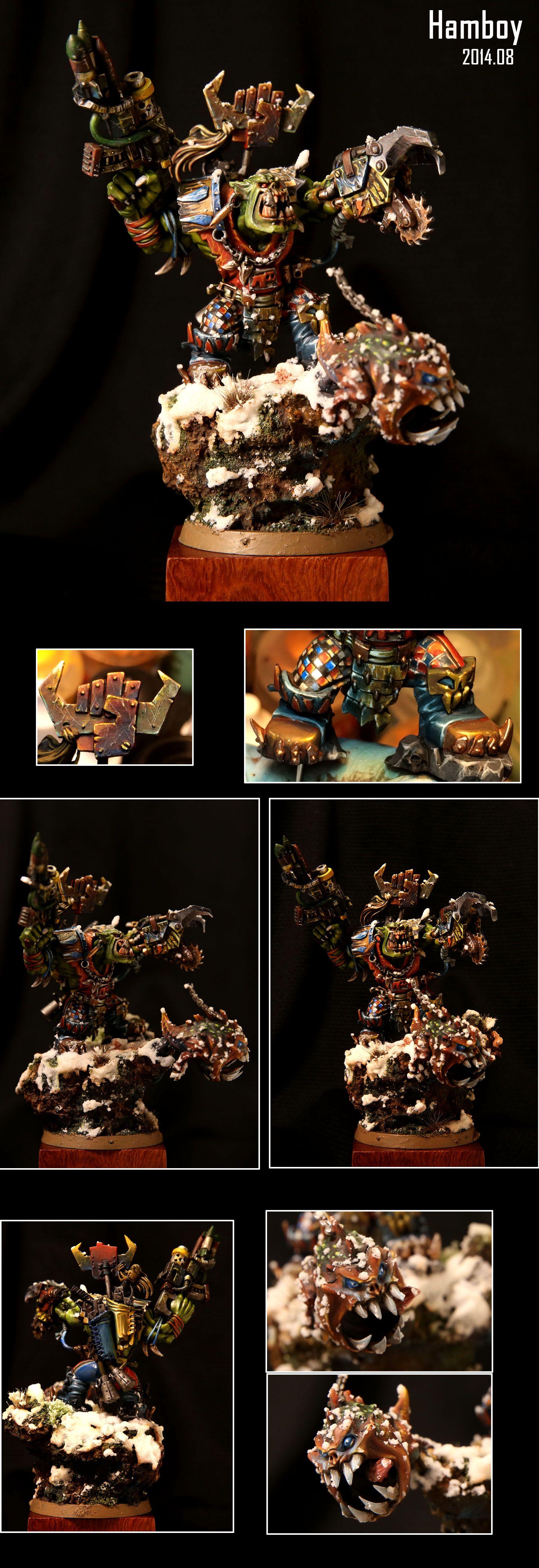 Ork Warboss (Stormclaw), Grukk