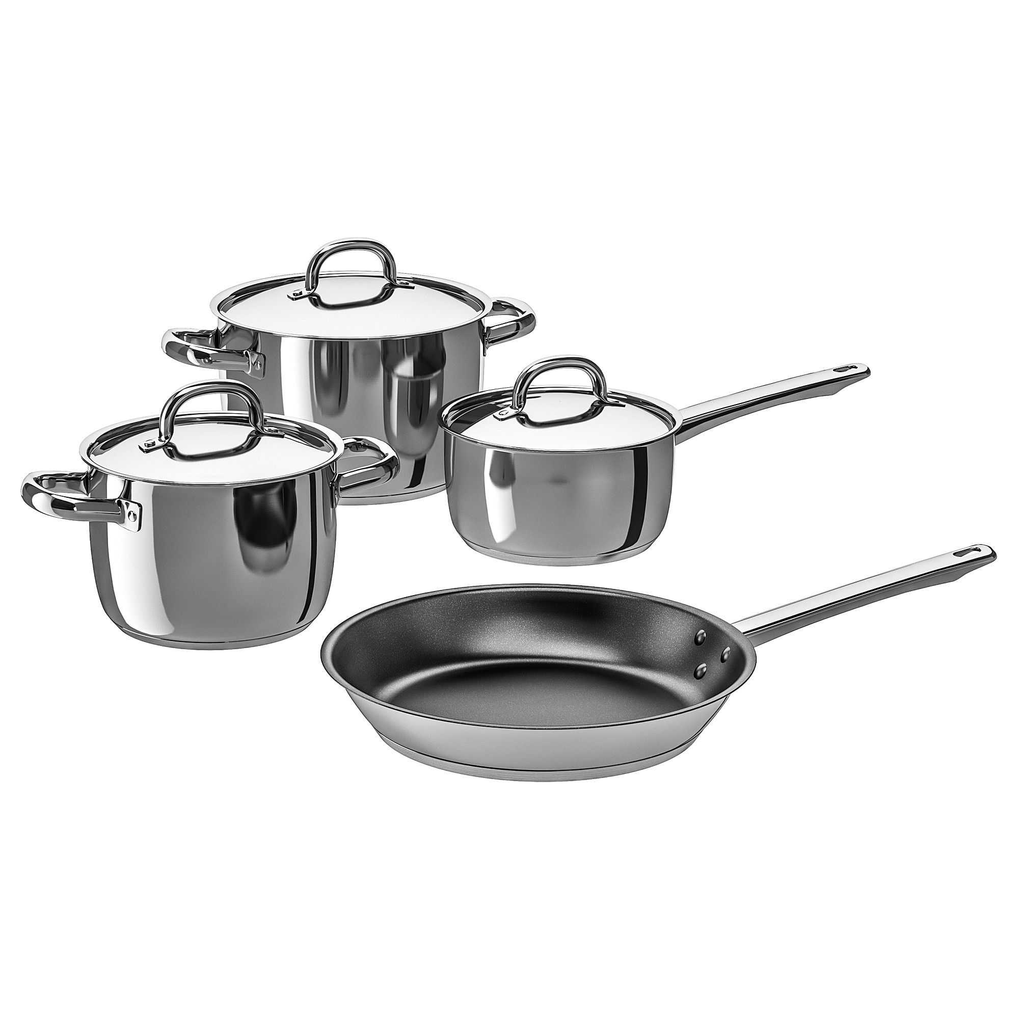 Oumbarlig 7 Piece Cookware Set Cookware Set Induction Cookware Cookware