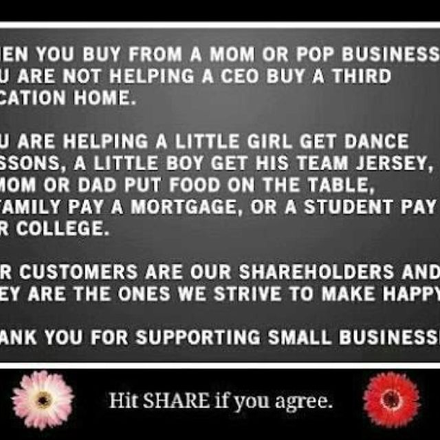 Shop Small!! Support families ❤