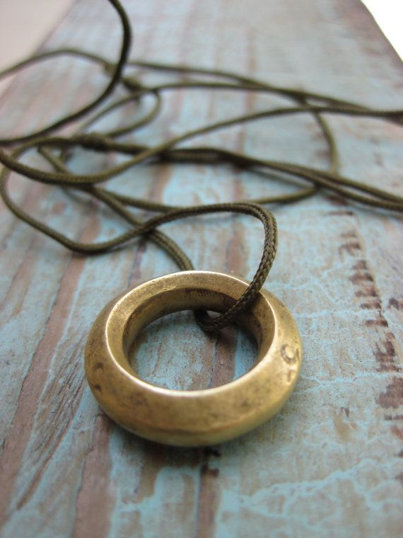 Ethiopian Ring Necklace Wedding By Coppertreeart 18 00