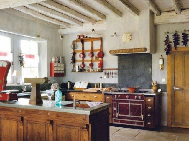 des cuisines esprit r cup 39 elle d coration cuisine cuisine bistrot id e d co cuisine et. Black Bedroom Furniture Sets. Home Design Ideas
