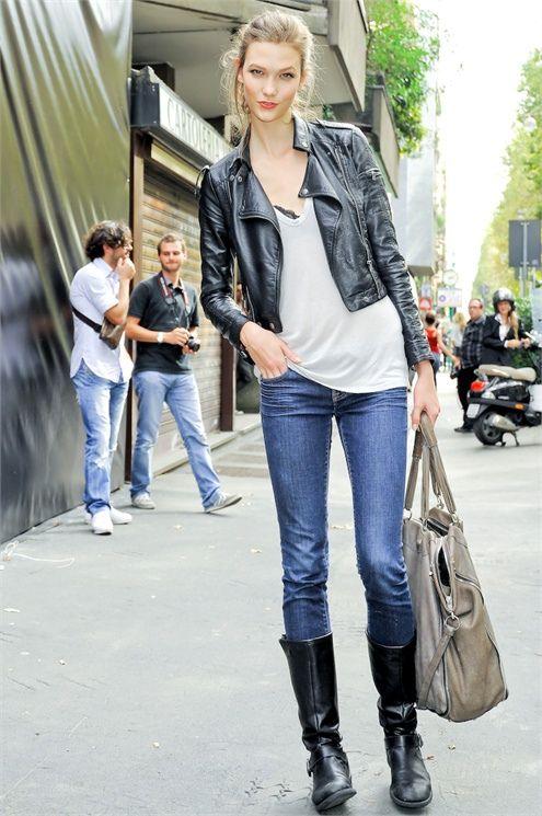 ☆ Rock 'n' Roll Style ☆ Karlie Kloss