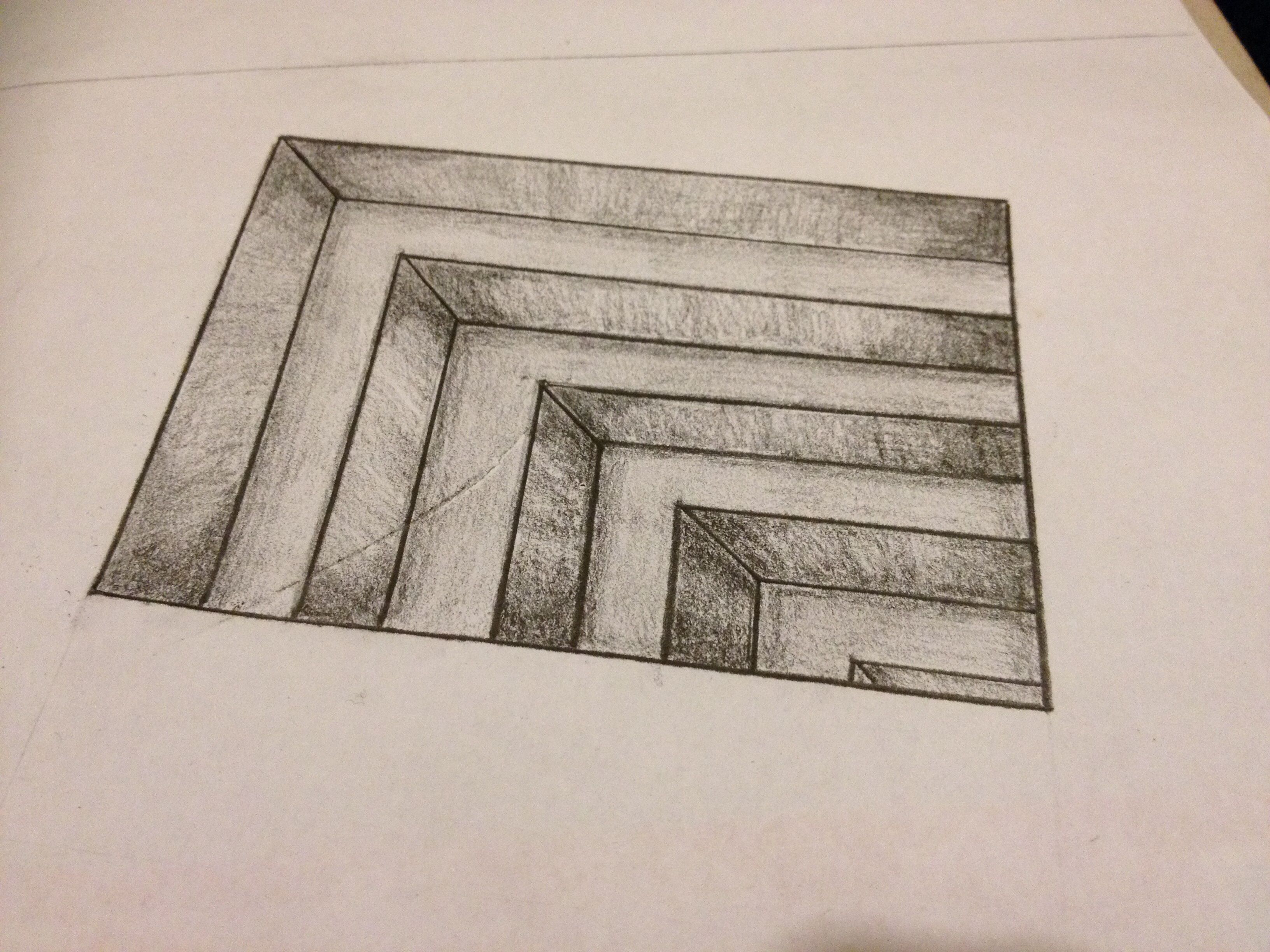 Easy Stairway To Heaven Drawing