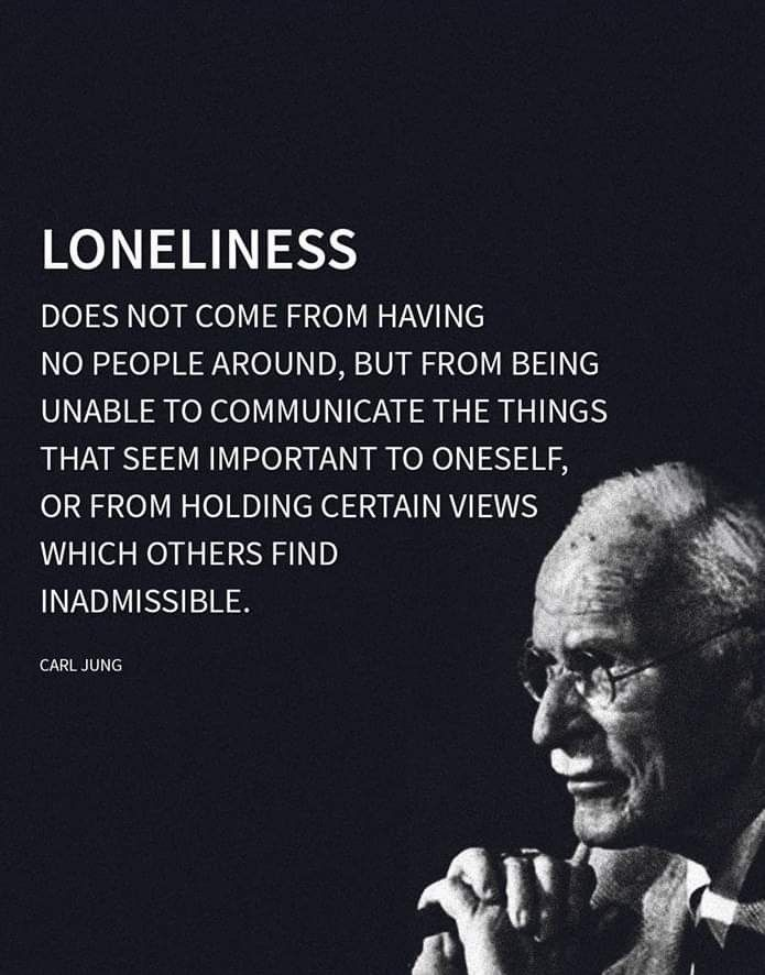 There are a lot of lonely people then......