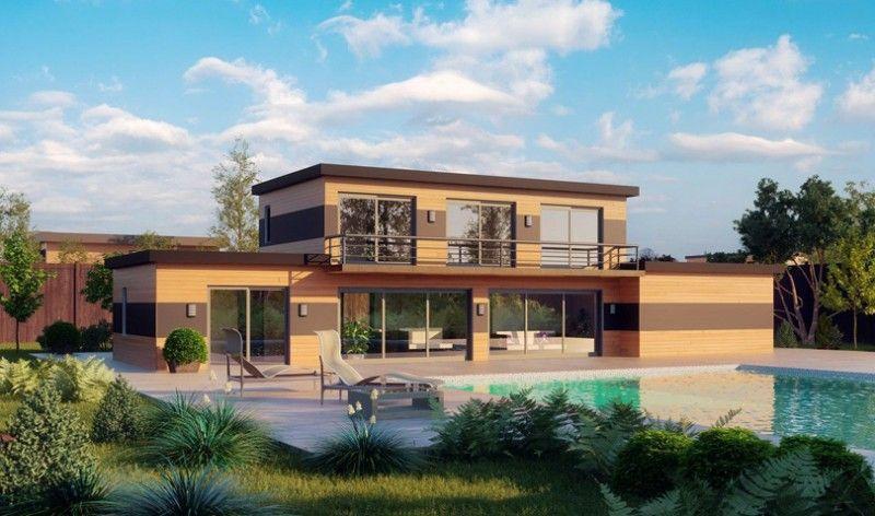 Une maison en bois, combien ça coûte ? Architecture and House - Combien Coute Une Extension De Maison