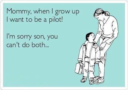 Dating een piloot meme