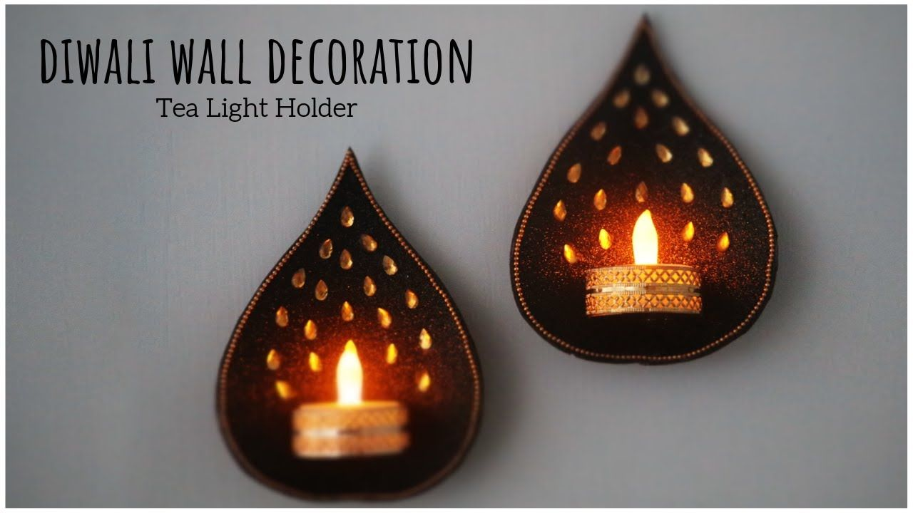 Tea Light Candles Holder Diwali Decoration Ideas Diya Decoration Ideas Christmas D Diy Tea Light Candle Holders Diwali Decorations Diy Diwali Decorations