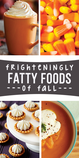 It starts innocently enough with a few pieces of Halloween candy, but rarely ends there. Here are some of the worst culprits for autumn weight gain …