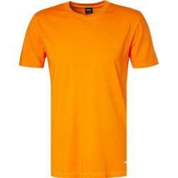 Photo of Boss Herren T-Shirt, Baumwolle, leuchtorange meliert Hugo Boss