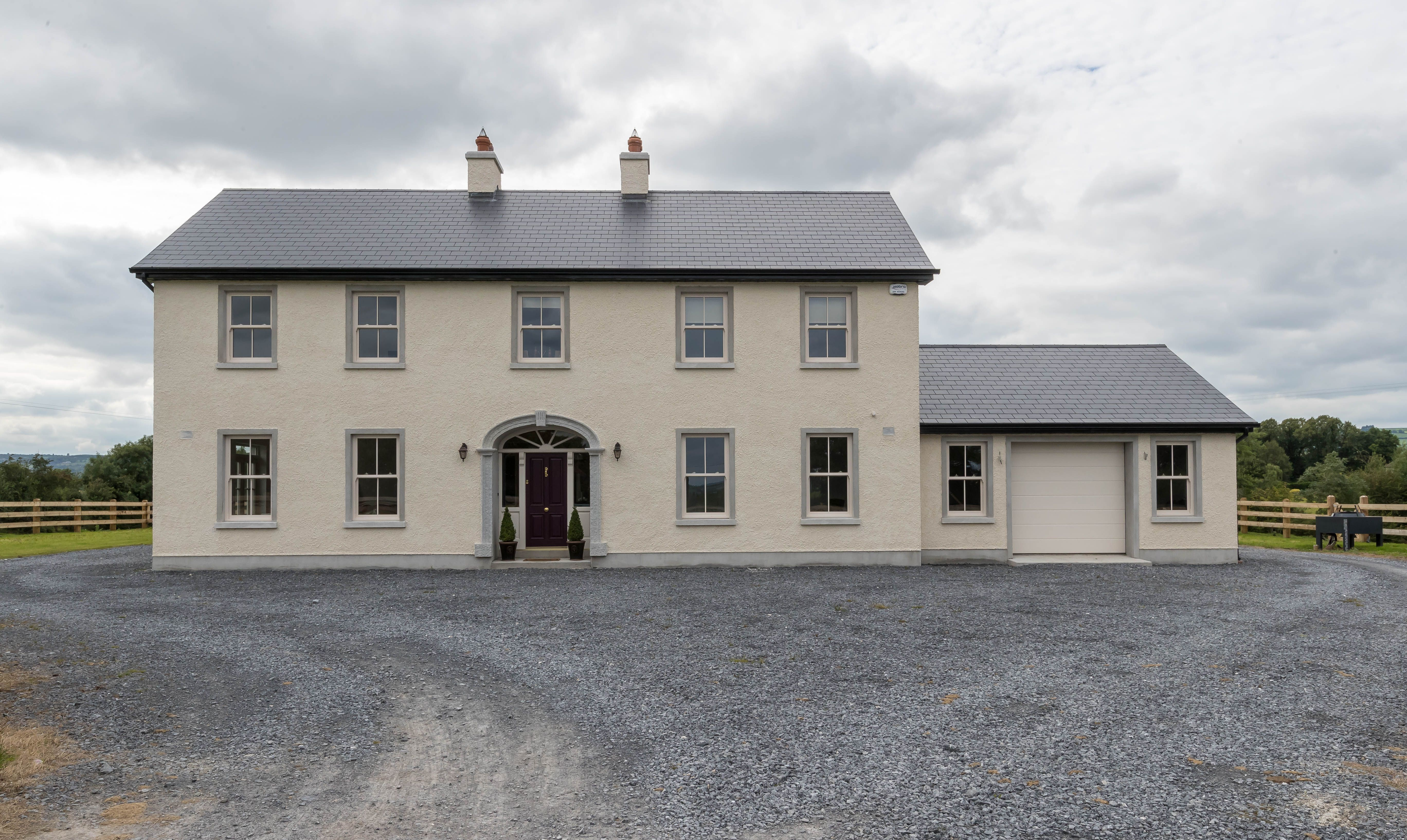 Stunning Family Home With A Rivendale Fibre Cement Roof Beautiful Homes Build Your Own House Building