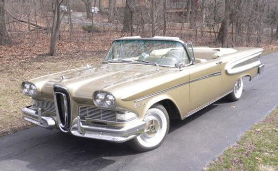 1958 ford edsel citation convertible hubby 39 s back in the. Black Bedroom Furniture Sets. Home Design Ideas