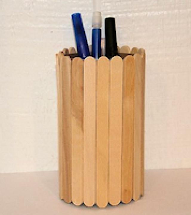 The 14 cutest crafts for creative little boys craft Cool pencil holder ideas