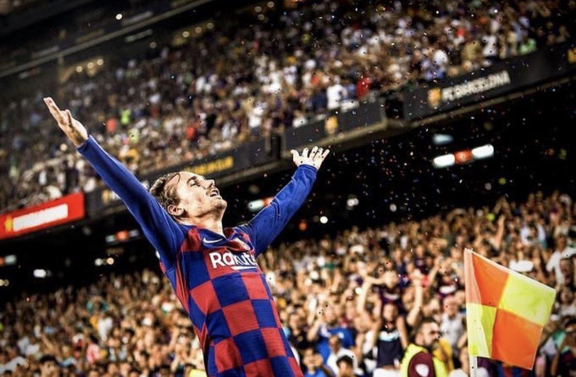 Barcelona va Betis | Antoine griezmann, Camp nou y Betis
