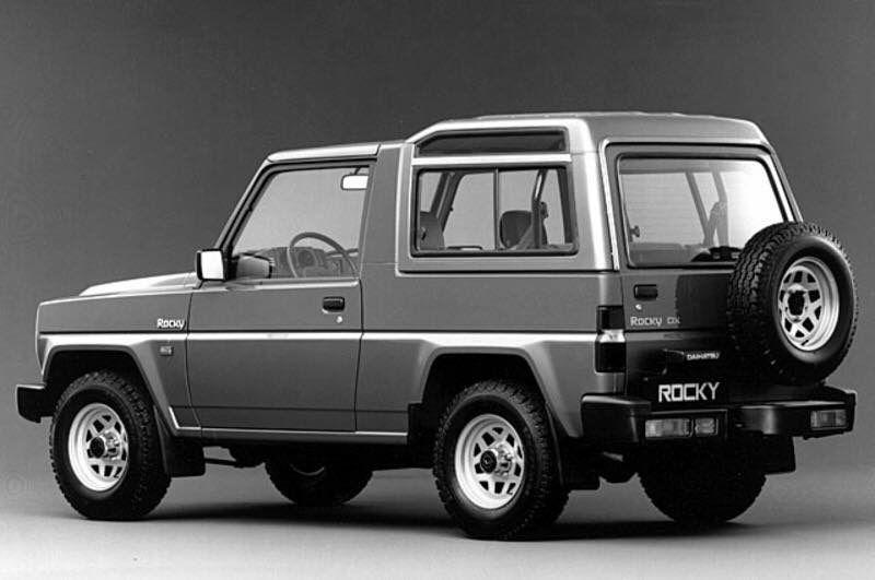 Daihatsu Rocky Daihatsu Future Concept Cars Taft Rocky