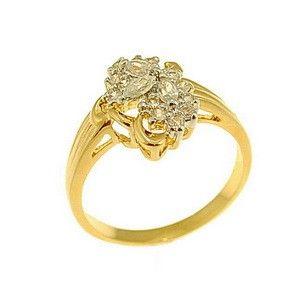 $33 Ring 18K Gold Plated, info@bijuterie-online.ro