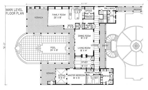 Period Style Homes ~ Alta Vista Plan 1-1244.  4,985sqft, 4 Bed 4 Bath. - Lovely Home!