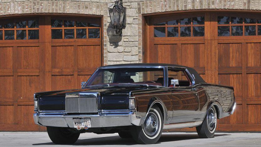 1969 Lincoln Continental Mark III 1 Print Image
