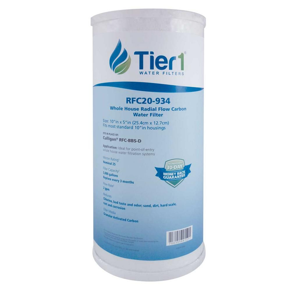 Tier1 Replacement For Pentek Fxhtc Rfc Bb 25 Mic 10 In X 4 5 In Granular Activated Carbon Block Water Filter Cartridge In 2020 Water Filter Cartridge Carbon Water Filter Water Filter