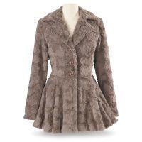 French Faux-Fur Jacket