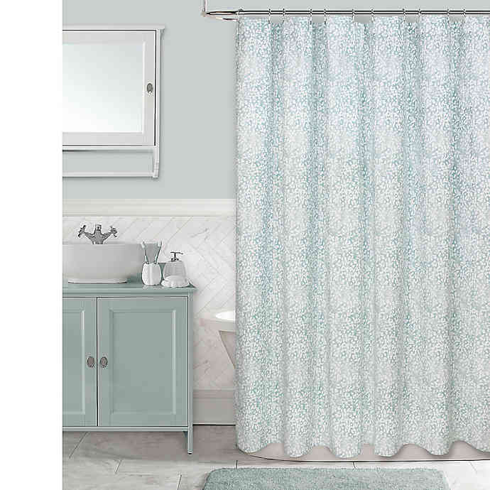 Colordrift Botanical Shower Curtain Bed Bath Beyond Small