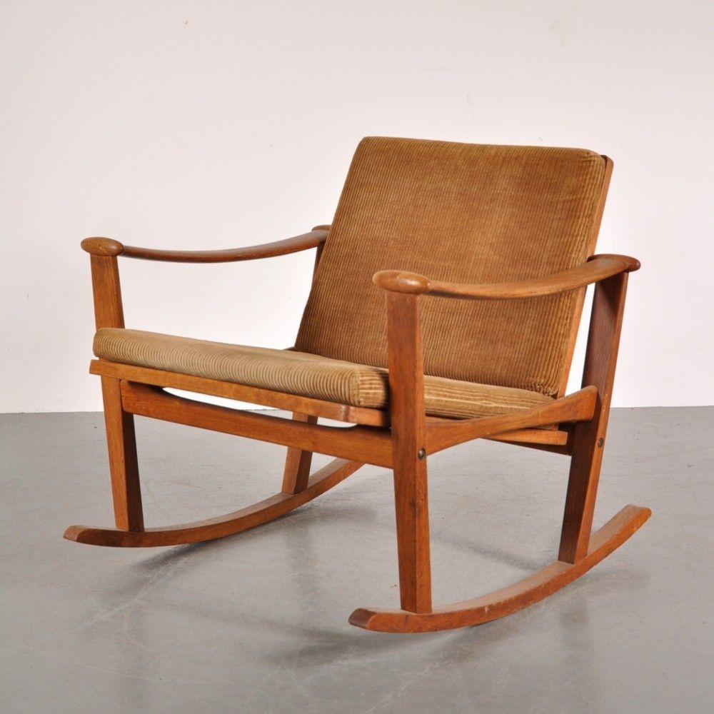 Rocking Chair By Finn Juhl Rocking Chair Chair Furniture
