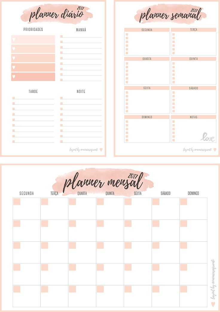Inserts planner 2017 para download planner di rio for Planning mural 2017