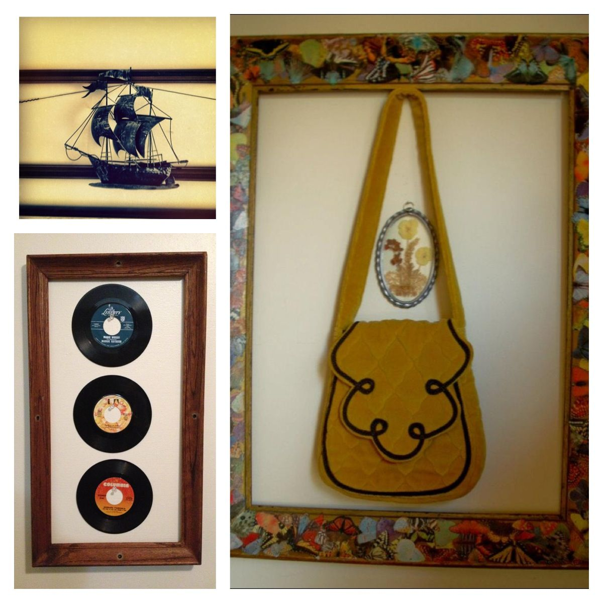 Put your favorite knick knacks in empty frames | Repurpose ...