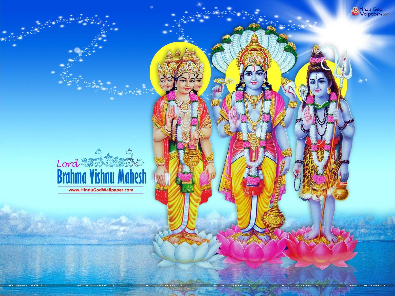 hindu-god-brahma-vishnu-mahesh