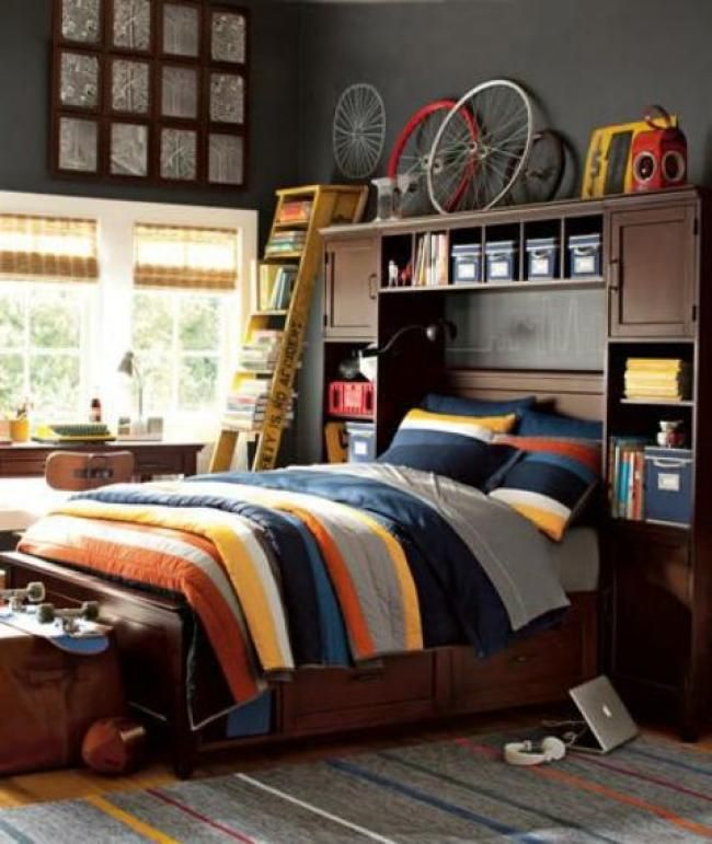 50 Modern And Stylish Teen Boys Room Inspirations