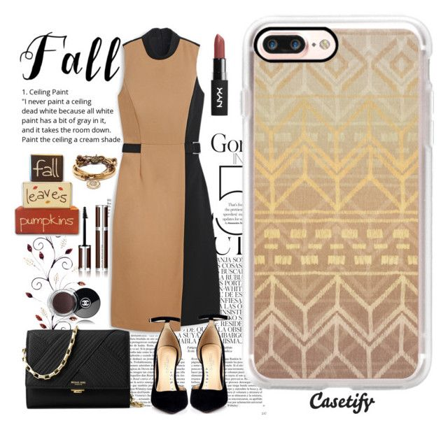 """""""Hello November 🍂"""" by casetify ❤ liked on Polyvore featuring Whiteley, Givenchy, Lizzy James, Chanel, White House Black Market, Michael Kors and Casetify"""