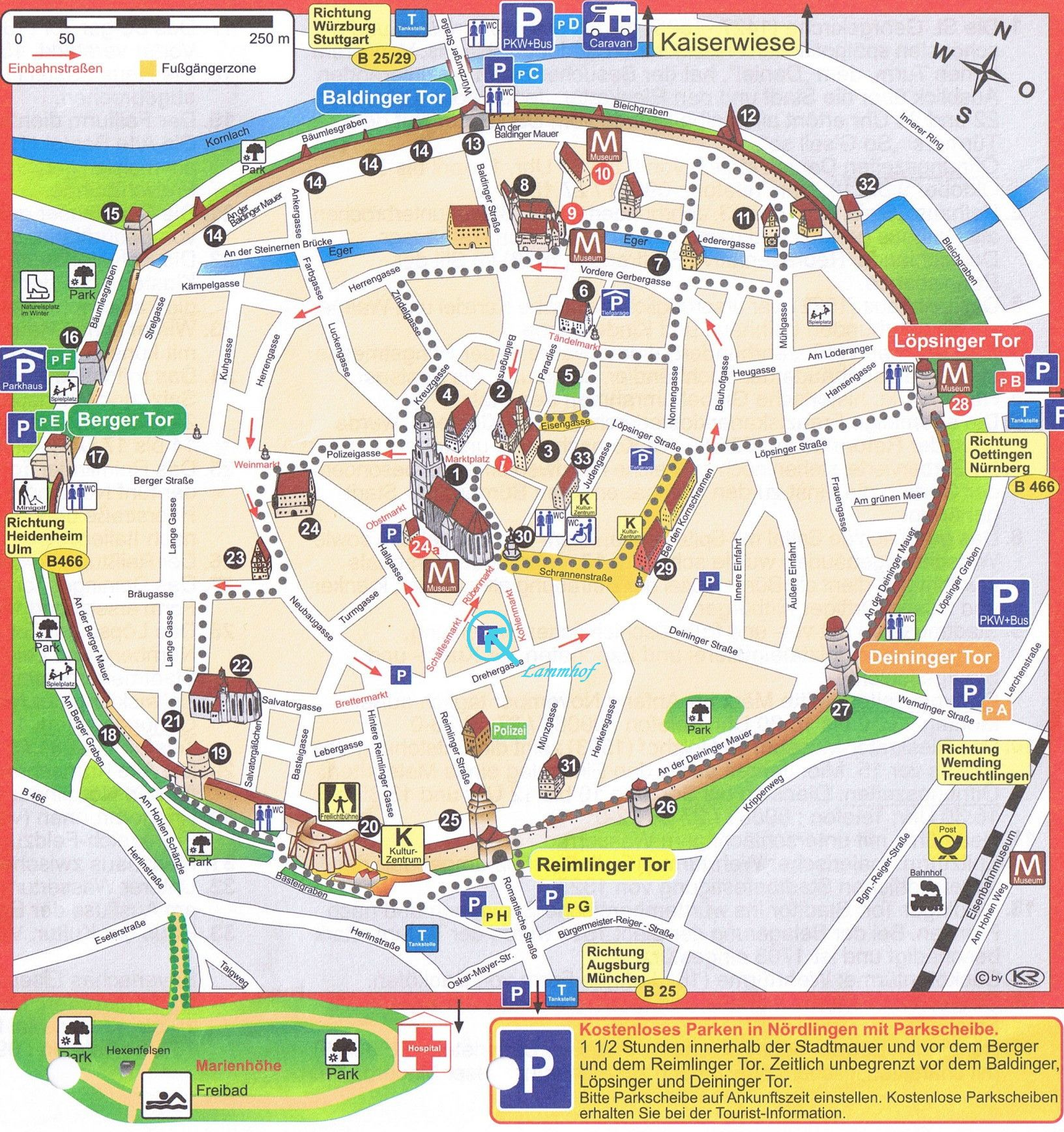 munich map | EURO TOUR | Tourist map, Germany travel, Romantic road
