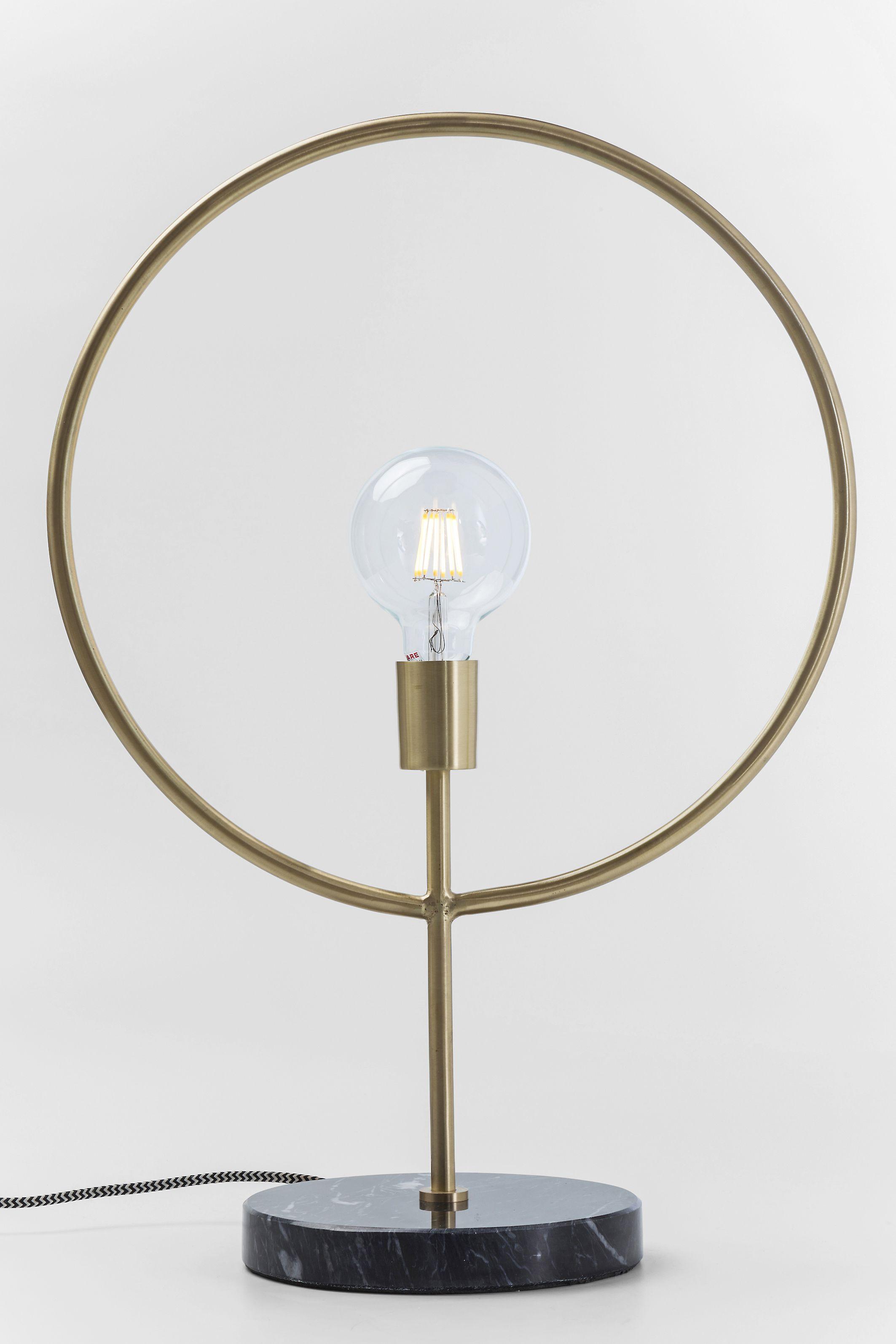 Unglaublich Moderne Tischlampen Ideen Von Tischlampe: Kreis Mit Format. Minimalistisches Design Mit
