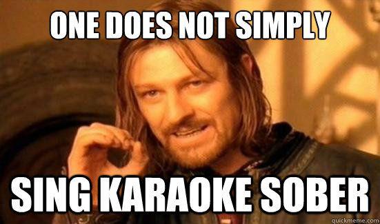 7d4d3a2657445b15bbfc234396edcfe8 bad karaoke performances meme funny pinterest karaoke, meme,Karaoke Meme