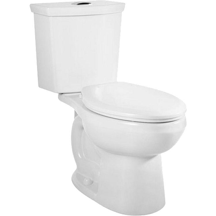 American Standard 2887.516.020 H2Option Dual Flush Elongated Toilet ...