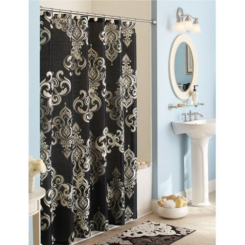 Better Homes And Gardens Traditional Elegance Shower Curtain Have The Rug I Just Need Hooks