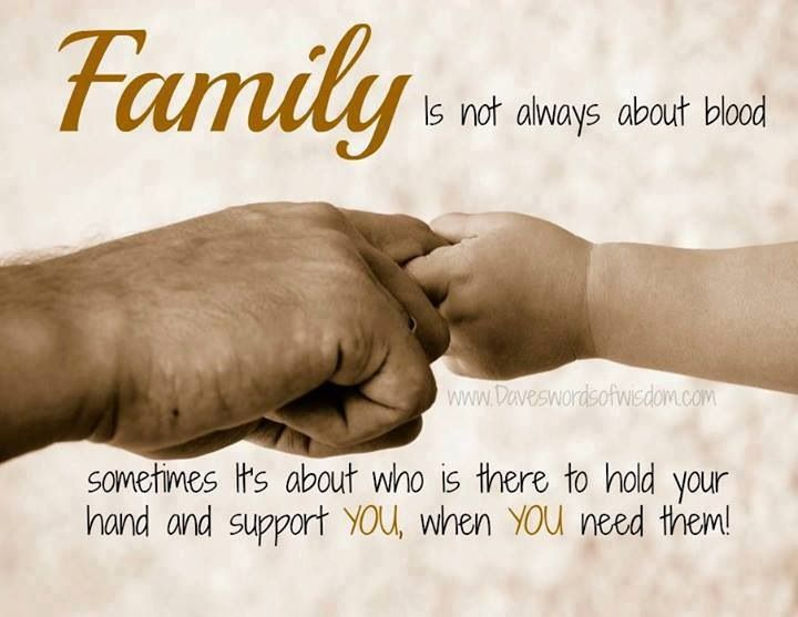 It S Always Nice To Have A Family That Stands Behind You 100 And Is There When You Need Them At T Family Quotes Inspirational Family Quotes Family Love Quotes