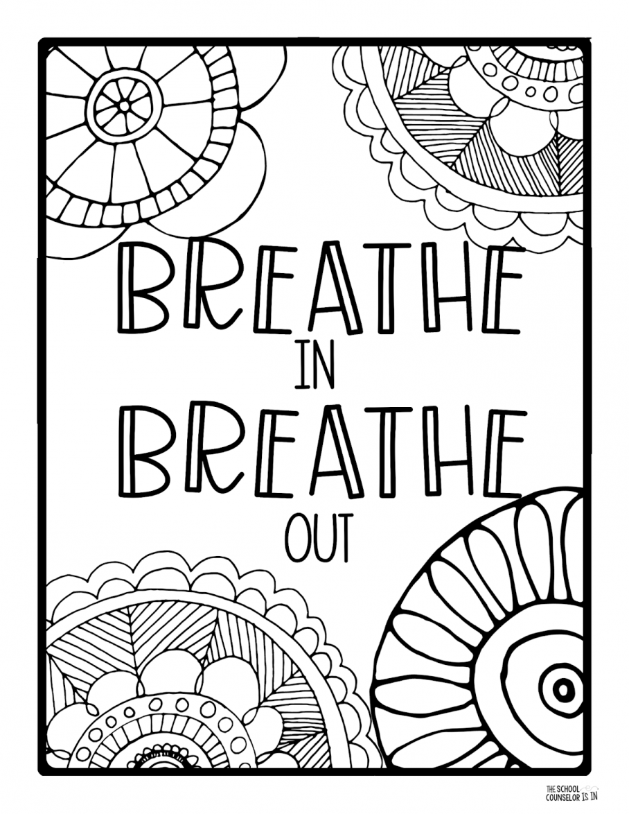 Mindfulness Coloring Pages For Students Free Sheets Printable Books Kids Love Adults Sleep Colouring B Free Coloring Pages Coloring Pages Toddler Coloring Book