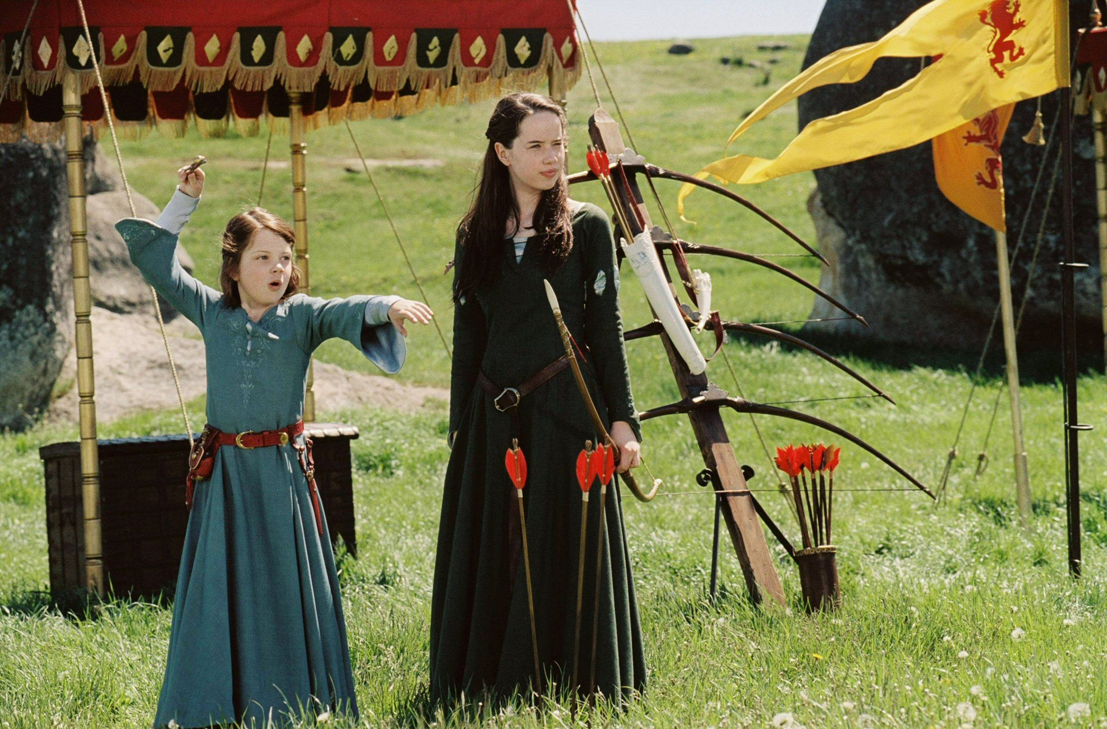 Lucy and Susan Pevensie
