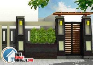 Pagar Rumah Minimalis Unik 2020