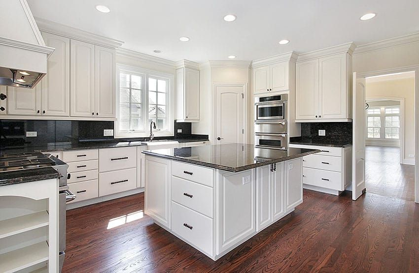 Black Granite Countertops Colors Amp Styles White