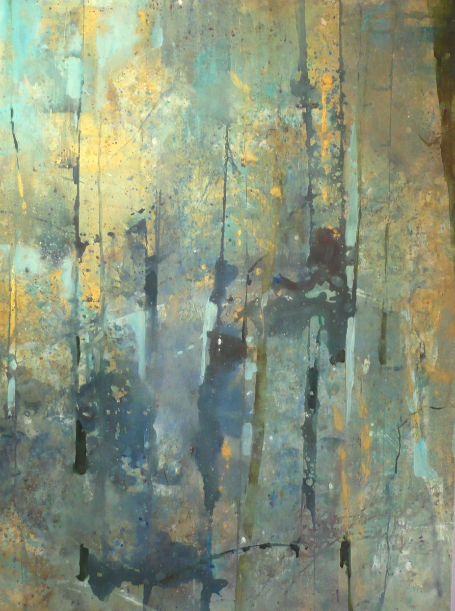 "Contemporary Painting - ""Forest Memory"" (Original Art from ..."
