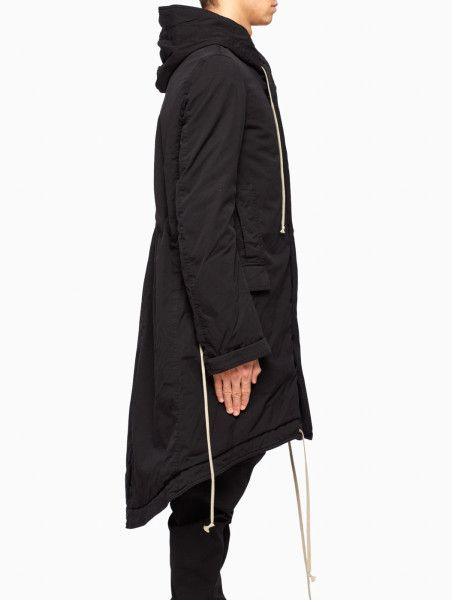 98fbc6cce4 Drkshdw By Rick Owens Fishtail Parka in Black for Men | Lyst ...