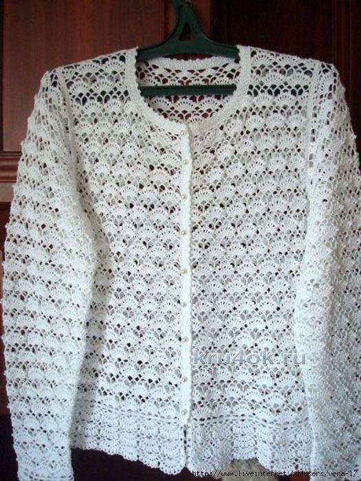 Materiales gráficos Gaby: Bellisimos puntos para chaqueta y remera ...