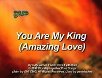 You Are My King (Amazing Love) - God's Kids Worship Band
