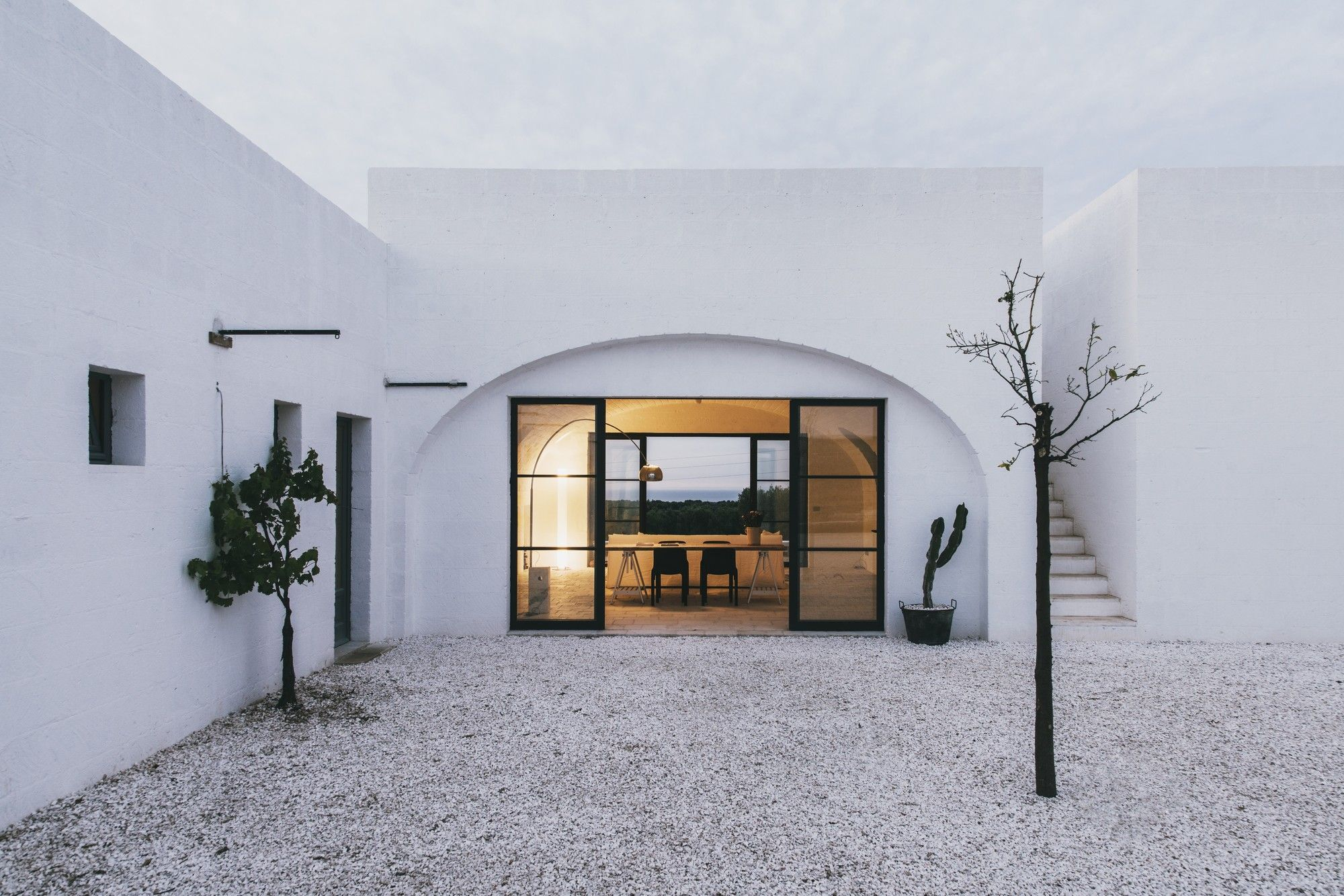 Completed in in ostuni italy images by salva lopez masseria