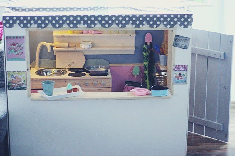 spielhaus aus holz selber bauen / kaufladen und kinderküche | kid ... - Kinder Küche Selber Bauen