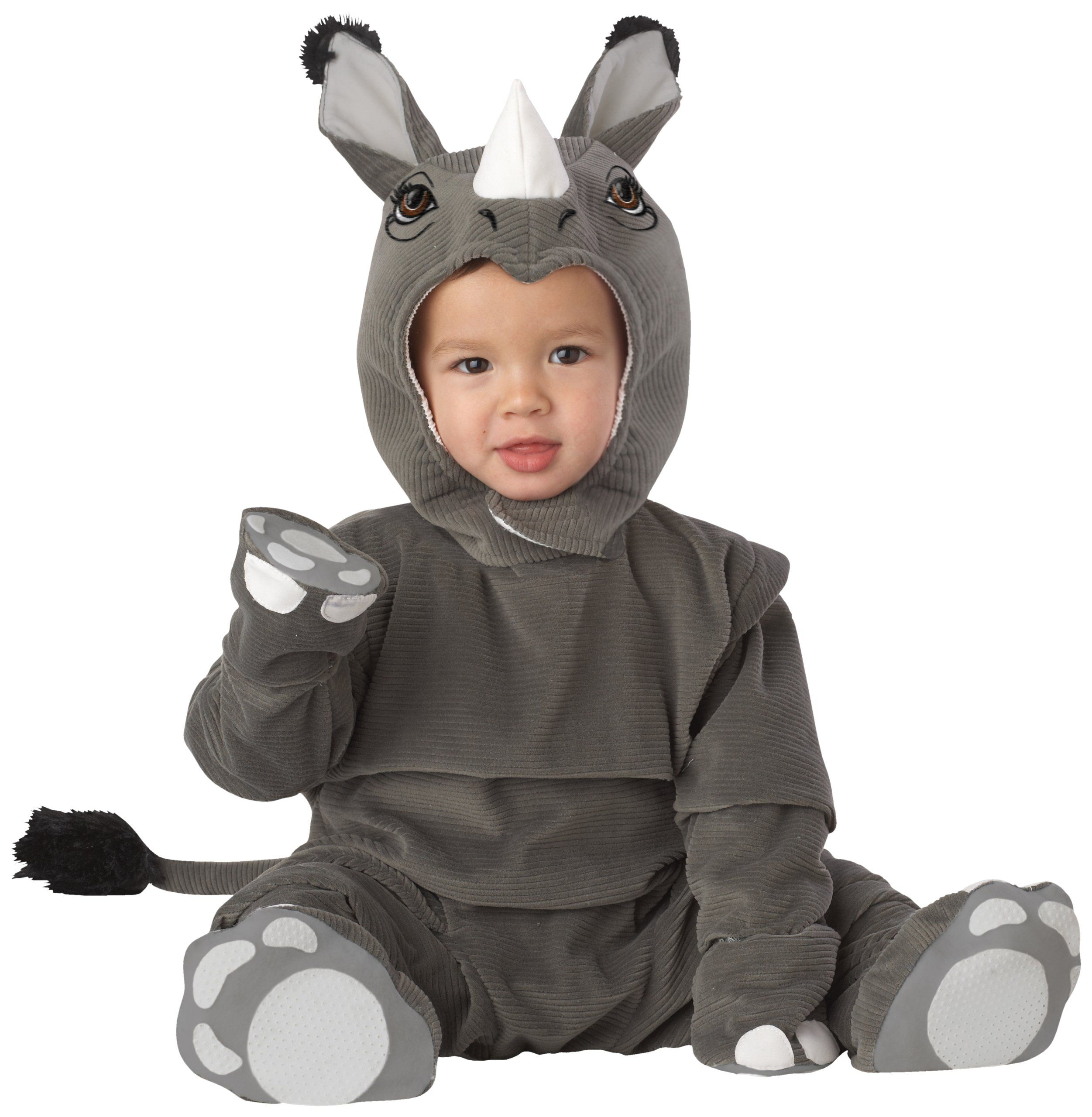 Hippo Baby Costume Halloween Fancy Dress SIZE 12-18 NEW