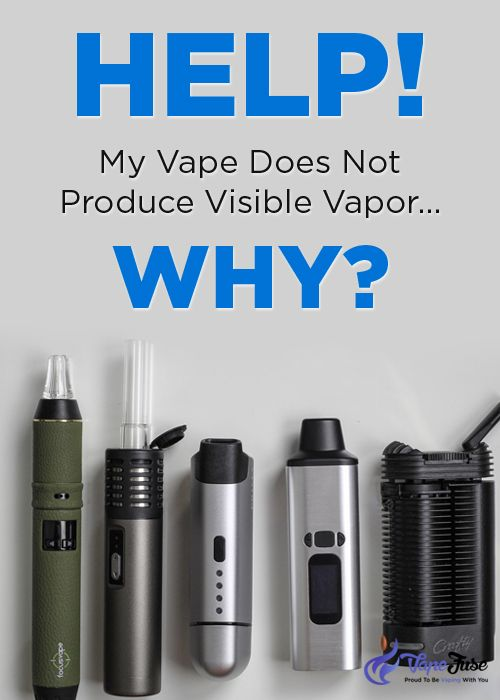 Does the Dry Herb Vaporizer Produce Visible Vapor? | Vape